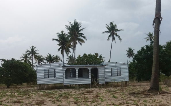 Mozambique takes corrugated iron homes to a whole new level