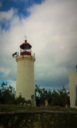 The lighthouse in Barra